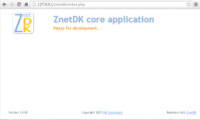 Core ZnetDK application
